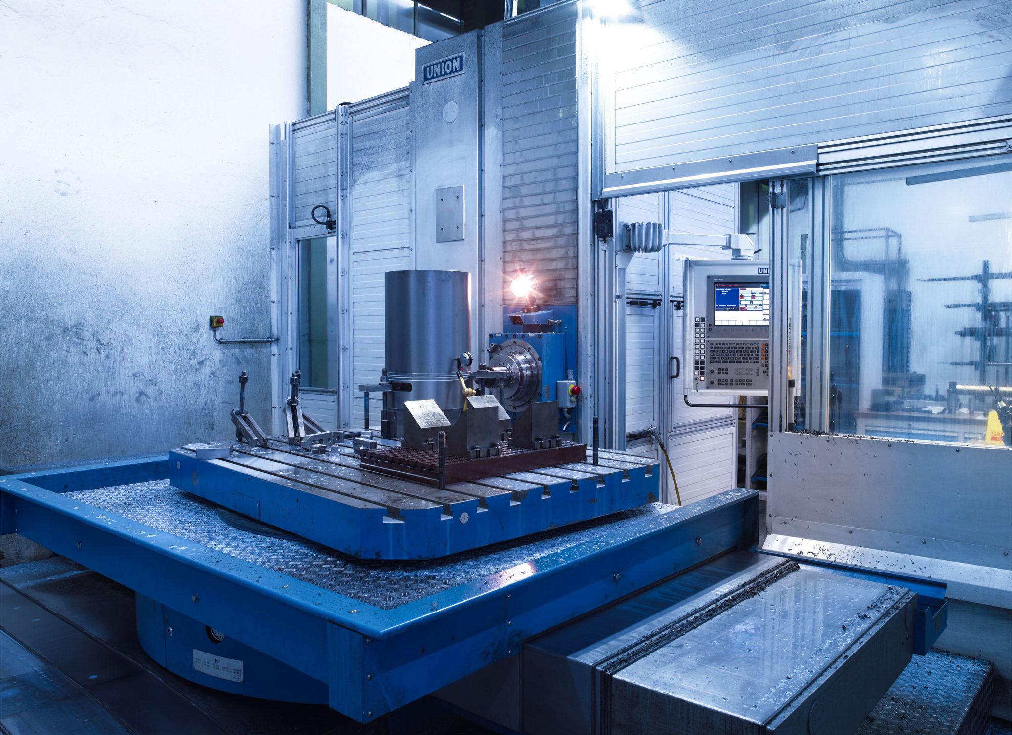 Union T110 Maschinenbau CNC-Drehen CNC-Fräsen Bohren CNC-Schleifen - Maschinen-Bohren-Fräsen-A-Union-T110-1068